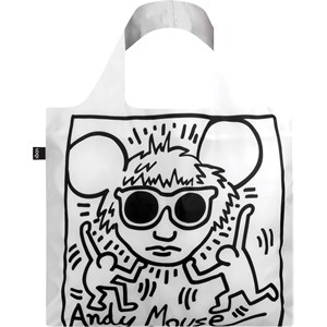 LOQI - Taschen - Tasche Keith Haring Andy Mouse