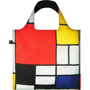 LOQI - Bags - Bag Piet Mondrian Composition with Red, Yellow, Blue and Black Recycled