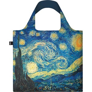 LOQI - Taschen - Vincent van Gogh The Starry Night Recycled Bag