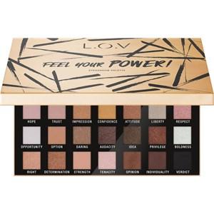 L.O.V - Olhos - Feel Your Power! Eyeshadow Palette