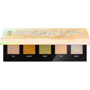 L.O.V - Augen - Speak Up! Full Effect Highlighter X Eyeshadow Palette