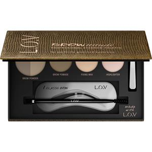L.O.V - Eyebrows - Browttitude Professional Eyebrow Palette