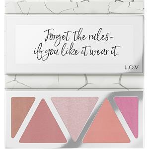L.O.V - Complexion - The Statment Blush Palette