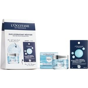 L'Occitane - Aqua Réotier - Feuchtigkeitsduo Gesichtsgel & -Maske