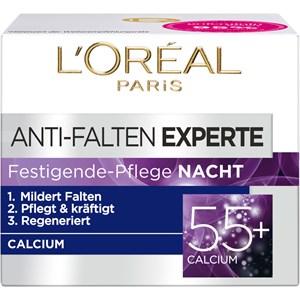 L'Oréal Paris - Age Perfect - Anti-Falten-Expert Festigende-Pflege Nacht Calcium 55+