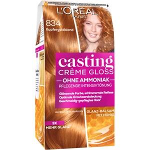 L'Oréal Paris - Casting - Crème Gloss 834 Kupfergoldblond