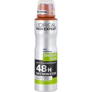 L'Oréal Paris Men Expert - Deodorants - Deodorant Spray Energy Kick