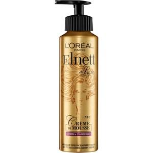 L'Oréal Paris - Elnett - Crème de Mousse, mousse for curls & strong hold