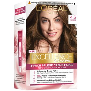 L'Oréal Paris - Excellence - Crème 4.3 Goldbraun