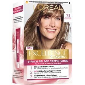 L'Oréal Paris - Excellence - Crème 7.1 Mittelaschblond