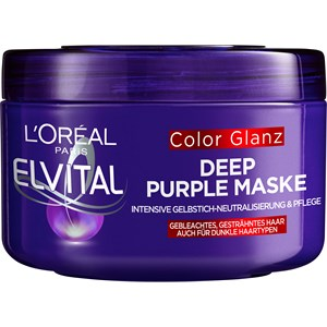 L'Oréal Paris - Masken & Crème - Color Glanz Deep Purple Maske