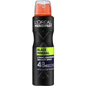 L'Oréal Paris - Deodorants - Black Mineral 48H