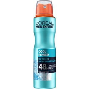 L'Oréal Paris - Deodorants - Cool Power Ice Effect Deodorant Spray