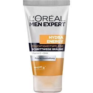 L'Oréal Paris Men Expert - Gesichtspflege - Hydra Energy Feuchtigkeitspflege Schrittweise Bräune