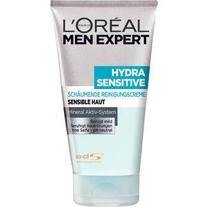 L'Oréal Paris Men Expert - Ansigtspleje - Hydra Sensitive - Schäumende Reinigungscreme - Sensible Haut