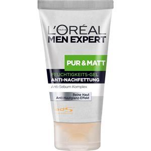 L'Oréal Paris Men Expert - Gesichtspflege - Pur & Matt Feuchtigkeits-Gel Anti-Nachfettung