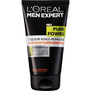 L'Oréal Paris Men Expert - Gesichtspflege - Pure Power Anti-Hautunreinheiten Tägliche Kohle-Reinigung