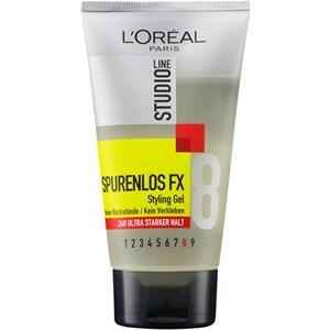 L'Oréal Paris - Hair Styling - Spurenlos FX Styling Gel 24h ultra starker Halt