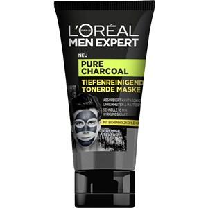 L'Oréal Paris - Pure Charcoal - Tiefenreinigende Tonerde Maske