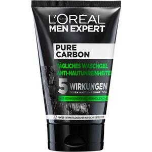 L'Oréal Paris Men Expert - Pure Charcoal - Waschgel Anti-Hautunreinheiten