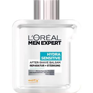 L'Oréal Paris Men Expert - Rasurpflege - Hydra Sensitive - After-Shave Balsam - Reparatur + Stärkung - Sensible Haut
