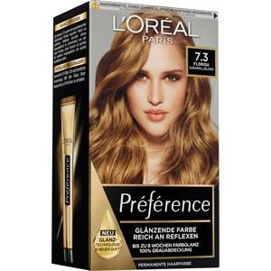 L'Oréal Paris - Préférence - Karamellblond  Coloration 7.3 Florida