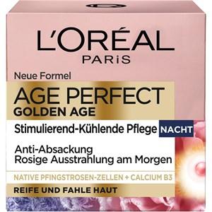 L'Oréal Paris - Tag & Nacht - Golden Age  Stimulierend-Kühlende Nachtpflege