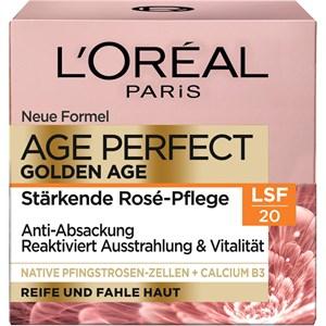 L'Oréal Paris - Tag & Nacht - LSF 20 Golden Age Rosé-Creme Tagespflege