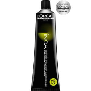 L´Oreal Professionnel Haarfarben & Tönungen Inoa Inoa Haarfarbe 7.18 Mittelblond Asch Mokka