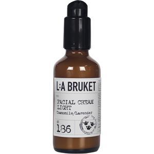 La Bruket - Gesichtscremes - Nr. 186 Facial Cream Light Chamomile/Lavender