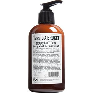 La Bruket - Bodylotions - Nr. 093 Body Lotion Bergamot/Patchouli