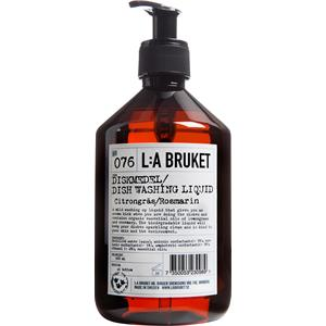 La Bruket - Saippuat - Nr. 076 Dishwashing Soap Lemongrass/Rosemary