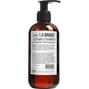 La Bruket - Shampoo - Nr. 086 Shampoo Coriander/Black Pepper