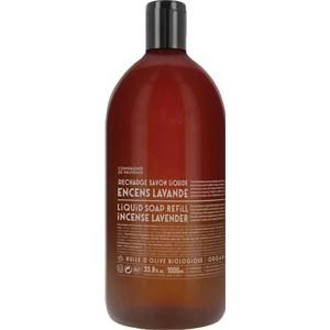 La Compagnie de Provence - Flüssigseifen - Incense Lavender Liquid Exfoliant Soap