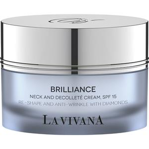 Image of La Vivana Pflege Brillance Neck & Decolleté Cream SPF 15 50 ml