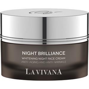 La Vivana - Night Brilliance - Crema sbiancante per il viso