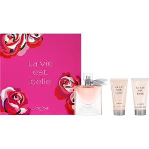 lancome-damendufte-la-vie-est-belle-happiness-set-eau-de-parfum-spray-50-ml-shower-gel-50-ml-body-lotion-50-ml-1-stk-