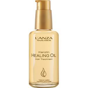 Lanza Haarpflege Keratin Healing Oil Treatment Pumpspender