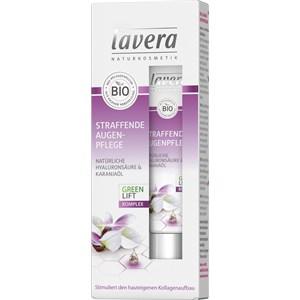 Lavera - Augenpflege - Natürliche Hyaluronsäure & Karanjaöl Straffende Augenpflege