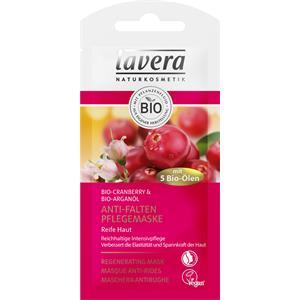 Lavera - Mirtillo rosso e olio di argan bio - Maschera anti-rughe