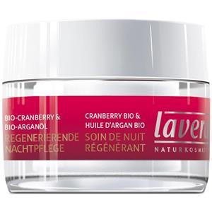 Lavera - Bio-Cranberry-Arganöl - Regenerierende Nachtcreme