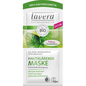Lavera - Maskers - Bio-munt, mineraalaarde & dode zeezout Huidzuiverend masker
