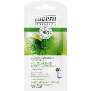 Lavera Gesichtspflege Faces Bio-Minze Hautklärende Reinigungsmaske 10 ml