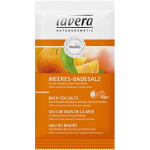 Lavera - Bio-Orange & Bio-Sanddorn - Meeres-Badesalz