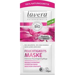 Lavera - Masken - Bio-Wildrose, Bio-Macadamianuss & Bio-Avocado Feuchtigkeits Maske