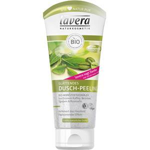 Lavera Körperpflege Body SPA Biowirkstoffkomplex aus Grünem Kaffee, Grüntee, Trauben & Rosinen Glättendes Dusch-Peeling 200 ml