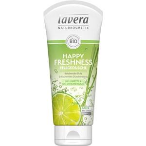 Lavera - Duschpflege - Bio-Limette & Bio-Zitronengras Pflegedusche Happy Freshness