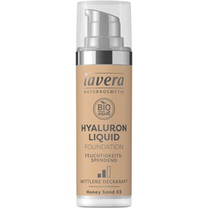 Lavera - Gesicht - Hyaluron Liquid Foundation