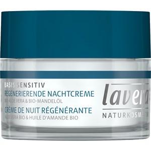 Lavera - Gesichtspflege - Bio-Aloe Vera & Bio-Mandelöl Regenerierende Nachtcreme