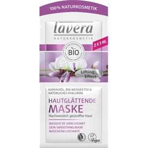 Lavera - Bio-Mandelmilch & Bio-Kakaobutter - Karanja Oil, Organic White Tea & Natural Hyaluron Skin Smoothing Mask